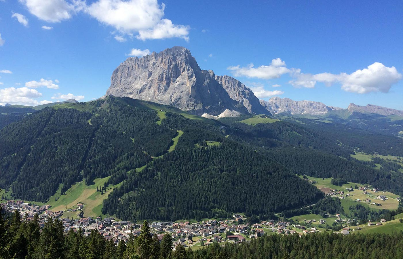 View of Val Gardena