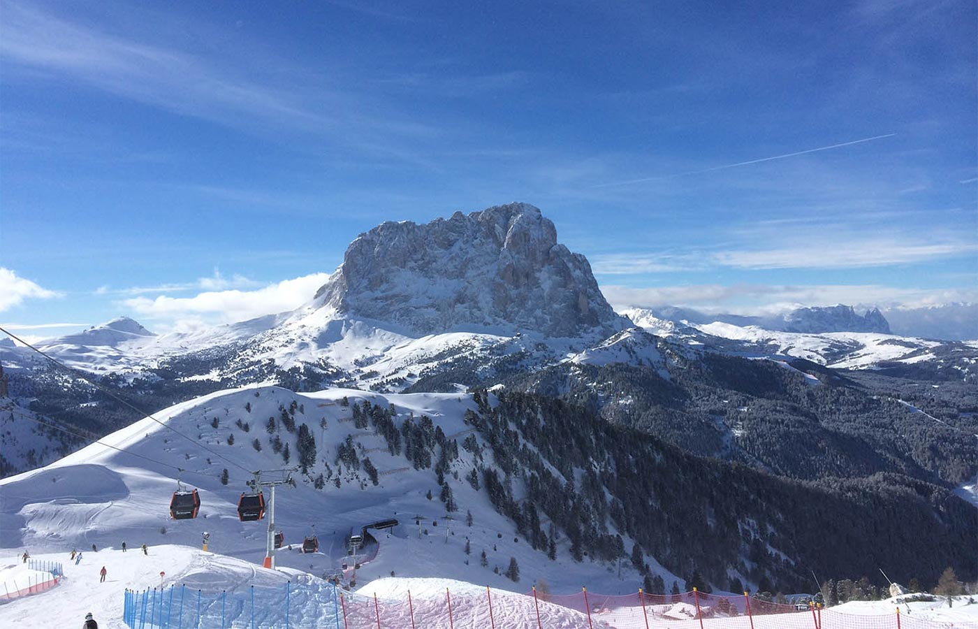 Ski resort in Selva Val Gardena